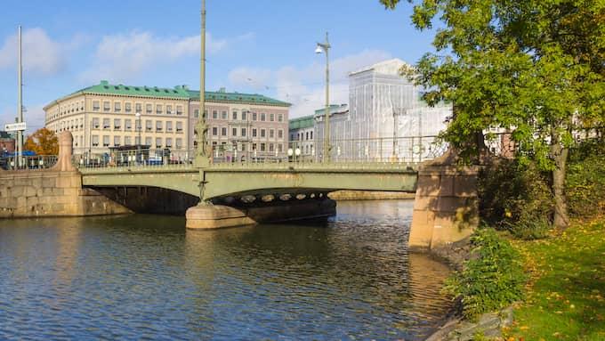 Vasabron som den såg ut innan den revs sommaren 2017. Foto: Göteborgs stad