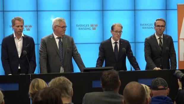 Andreas Norlén blir Alliansens kandidat till riksdagens talman