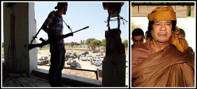 Enligt The Daily Telegraph är elitsoldaterna utklädda till civilbefolkning som bor i området. Man använder också samma typ av vapen som rebellerna. Obs! Bilden till vänster är tagen vid ett annat tillfälle. Foto: AP