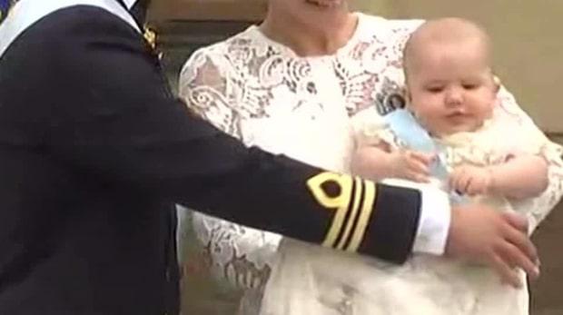 Så firas prins Alexander på sin ettårsdag