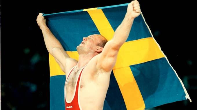 Mikael Ljungberg blev stor svensk OS-hjälte med guld i Sydney 2000. Foto: LENNART MÅNSSON / BILDBYRÅN