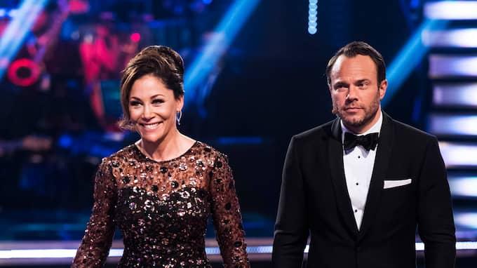 """Tilde de Paula och David Hellenius leder """"Let's dance"""" Foto: ERIK SIMANDER / BILDBYRÅN"""