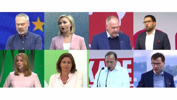 Valspurten: Den första stora partiledardebatten