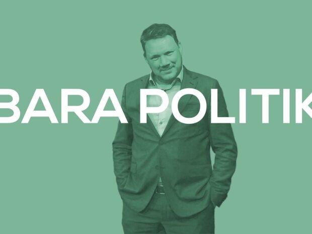 Jimmie Åkesson gäst i kvällens Bara politik
