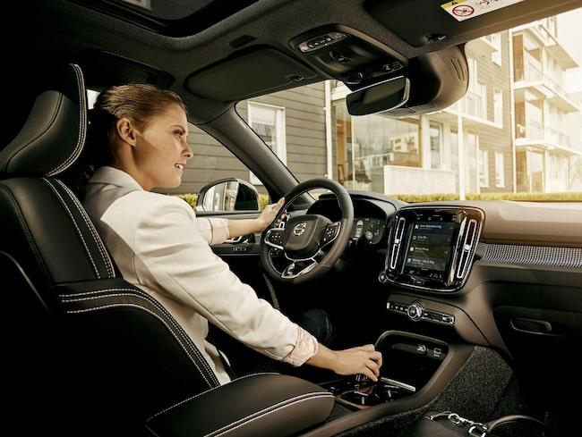 Volvos samarbete med Google innebär att internetjätten får tillgång till information från bilarna.