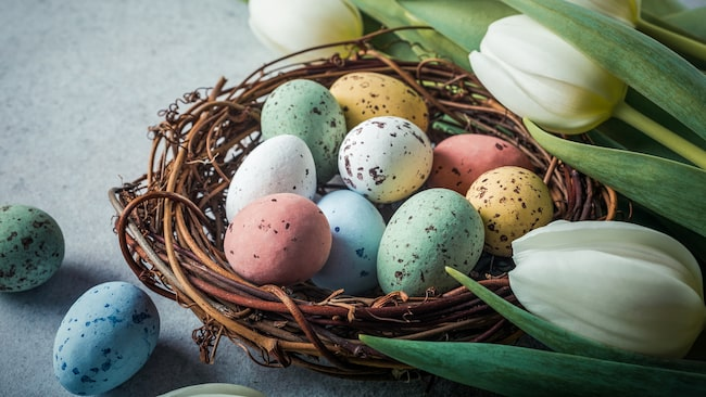 Under påsken äter vi dubbelt så mycket ägg som under en normal vecka.