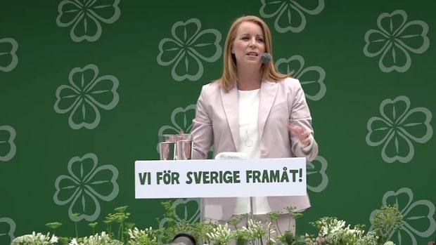 Se hela Annie Lööfs tal från Almedalen