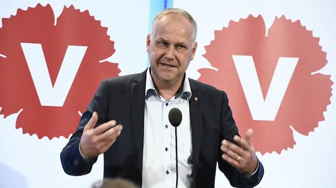 Jonas Sjöstedts Vänsterpartiet har inte bara problem med sin historia. Man har i dag också stora problem med sin partikultur och sin politik, skriver Patrik Björck (S). Foto: CLAUDIO BRESCIANI/TT