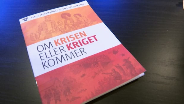 "Dan Eliasson om broschyren ""Om krisen eller kriget kommer"""