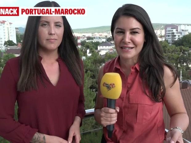 Uppsnack: Portugal-Marocko