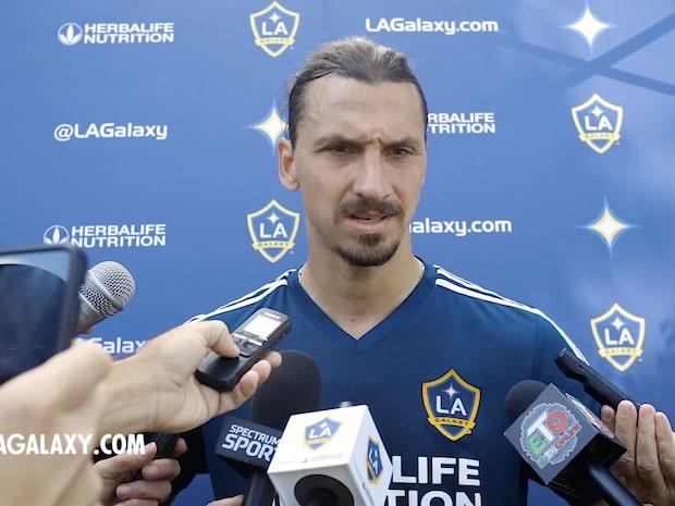 """Zlatan kan spela sin sista match på söndag: """"Det kan bli så"""""""