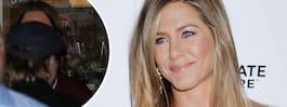 Bilden avslöjar Anistons och Pitts återförening