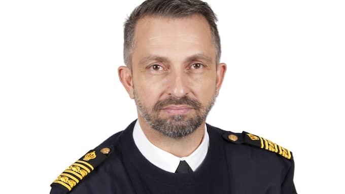Tomas Rosenberg är polisområdeschef och berättar om en tung dag för kollegerna. Foto: Polisen