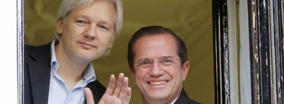Bevakningen av assange har kostat 30 miljoner