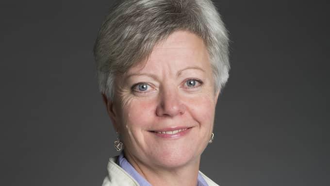 Annika Qarlsson är arbetsmarknadspolitisk talesperson för Centerpartiet. Foto: ANNA SIMONSSON
