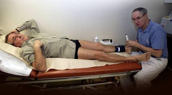 mäta blodtryck i benen
