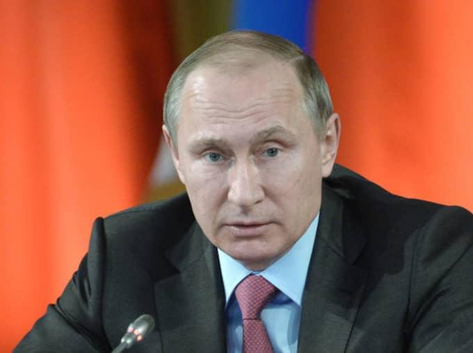 Vladimir Putin. Foto: Alexei Nikolsky/AP/TT