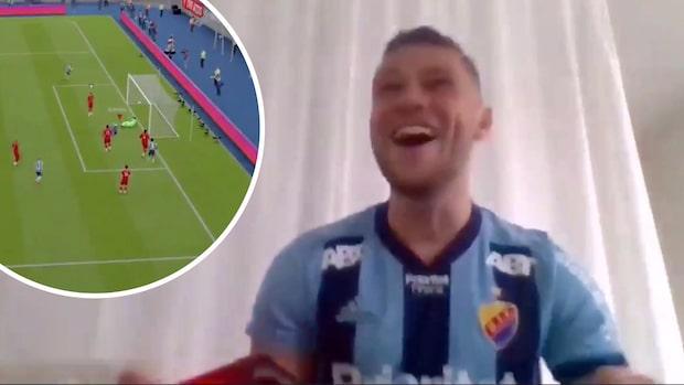 Karlström tog rysarseger mot Liverpool-stjärnan