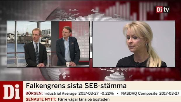 Annika Falkengrens sista SEB-stämma