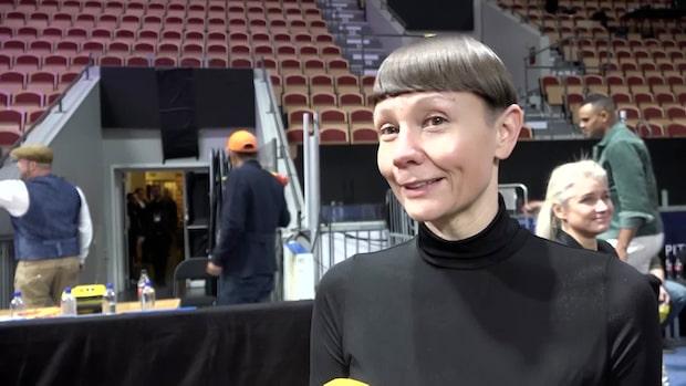 """Karin Gunnarsson: """"Alla artister höjde sig"""""""