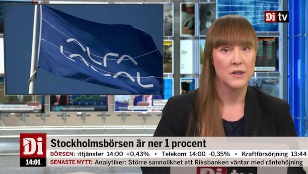 Di Nyheter 14.00 14 november - neråt för verkstadsbolagen