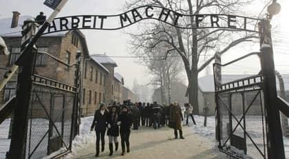 FÅR ALDRIG GLÖMMAS. Judehatet överlevde även Förintelselägren - inte minst märks det i dagens Malmö, där den judiska delen av befolkningen känner sig alltmer otrygg. Foto: Kacper Pempel
