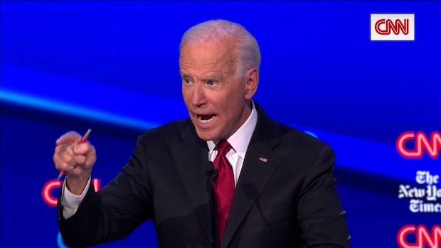 """Joe Biden om Trump och Ukraina: """"Han trodde på Putin"""""""