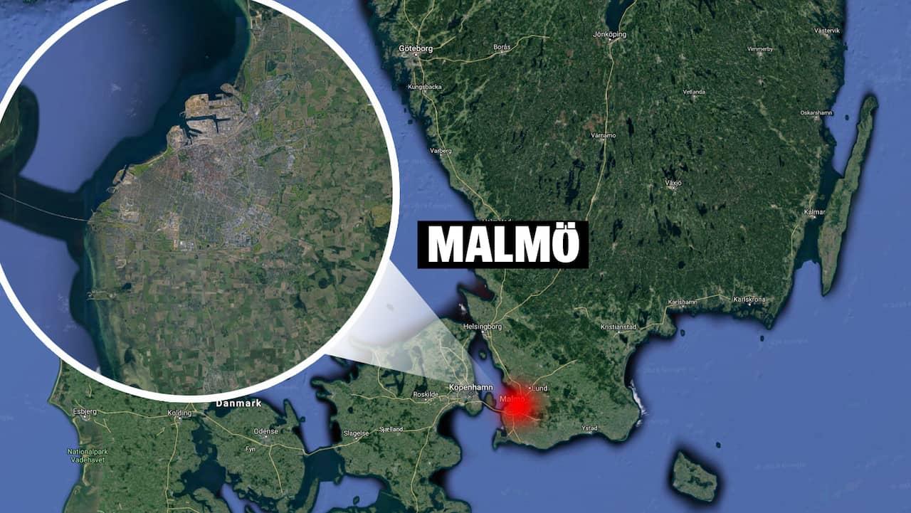 Ung man skjuten i Malmö – tog sig själv till akuten