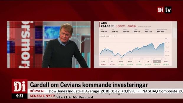 """Gardell: """"Stort förtroende för styrelsen i ABB"""""""