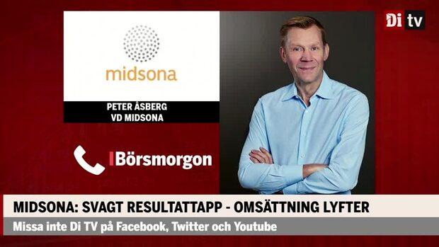 Midsonas vd Peter Åsberg: Intensivt kvartal – genomfört flera förvärv