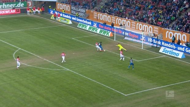 Highlights: Augsburg-Hoffenheim 0-2