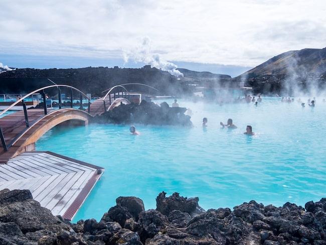 Den blå lagunen är en av Islands mest uppskattade turistattraktioner.