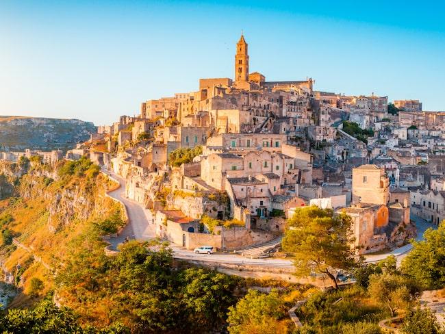 Sassis runt 1 500 grottbostäder gjorde Matera till ett Unesco-världsarv redan 1993.