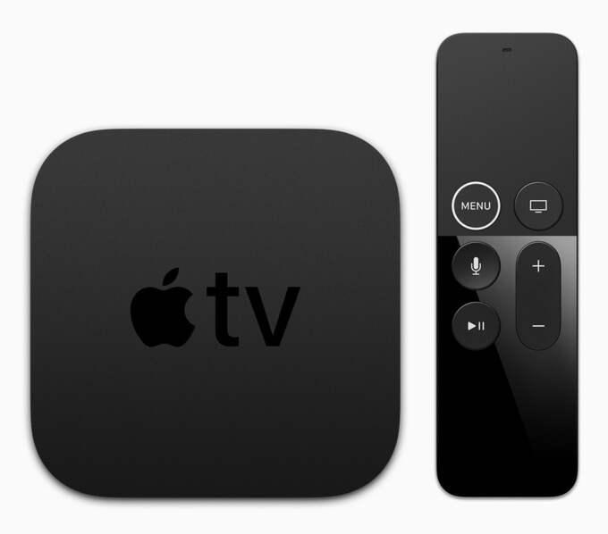 Här är nya Apple TV 4K. Foto: / Epa / APPLE INC.