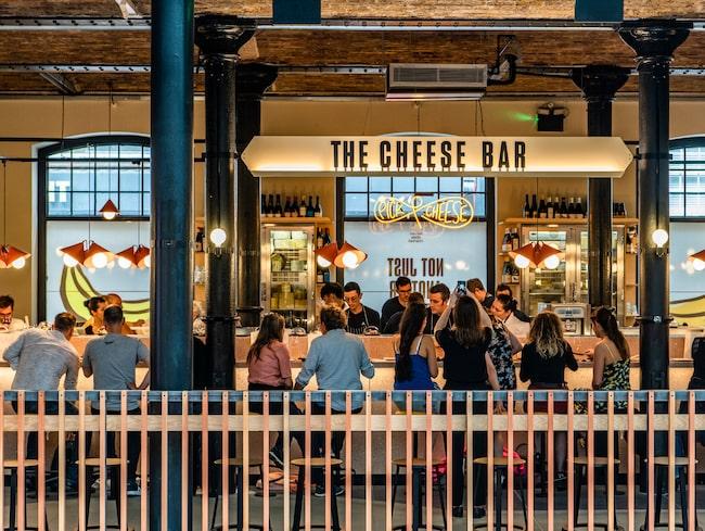 Pick & Cheese, som just har lanserats på Seven Dials Market i Covent Garden.