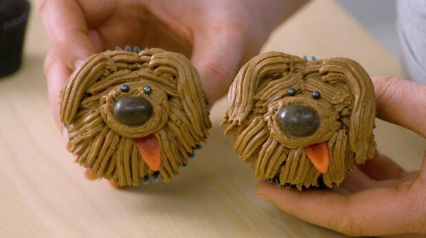 Dekorera dina muffins som hundar