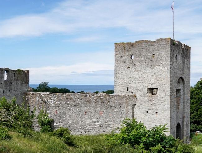 "Ringmuren i Visby är en toppenkuliss i succéserien ""Game of Thrones""."