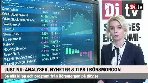 Marknaden: Stockholmsbörsen svagt uppåt  – Hövding stiger 1%