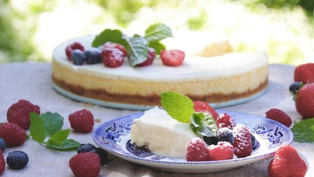 Recept på klassisk cheesecake