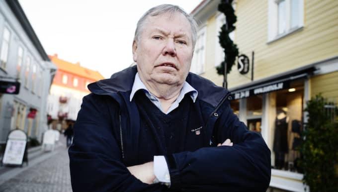 """""""Det här är bara byråkrati och dumheter"""", säger Bert Karlsson efter polisanmälan. Foto: Anna Svanberg"""