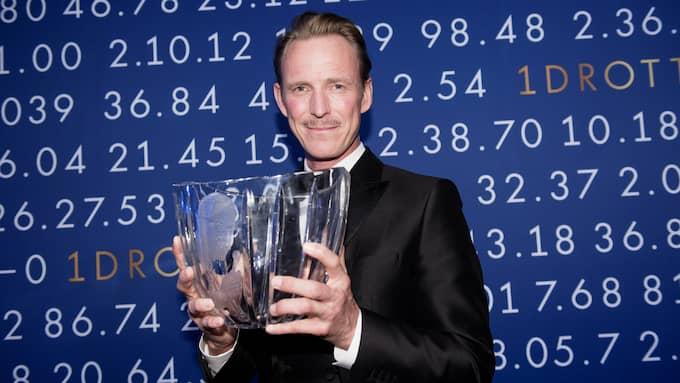 Peder Fredricson vann Jerringpriset på Idrottsgalan 2017. Foto: OLLE SPORRONG