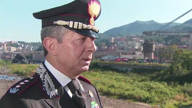 36 döda i broraset på motorvägen i Genua – så här långt