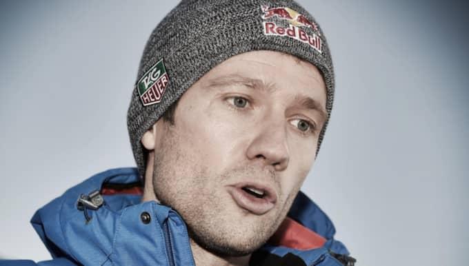 Sebastien Ogier leder Svenska rallyt.