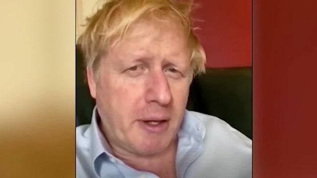 Boris Johnsons nya hälsning från coronakarantänen