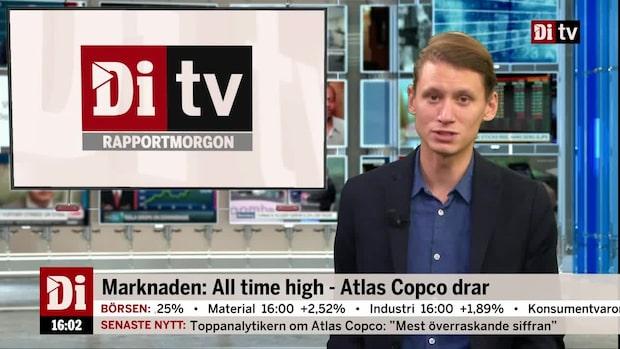 Marknadskoll: Stockholmsbörsen sätter nytt rekord