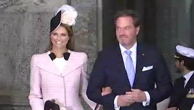 Prinsessan Madeleines överraskning inför dopet