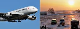 282 lättklädda flygresenärer strandade i sibirisk iskyla i tre dygn
