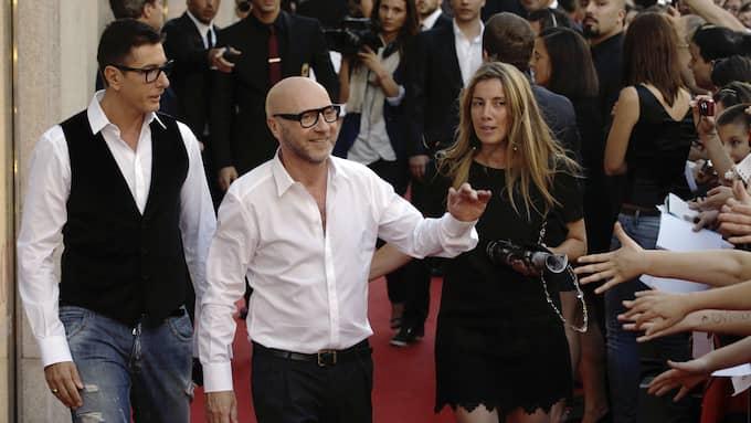 Stefano Gabbana och Domenico Dolce. Foto: LUCA BRUNO / AP TT NYHETSBYRÅN