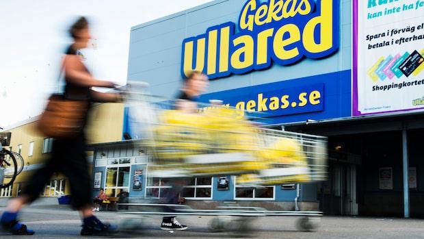 Pistoldrama inne på Gekås Ullared
