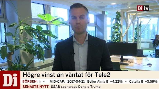 Tele2 Sveriges vd Samuel Skott om styrkebeskedet